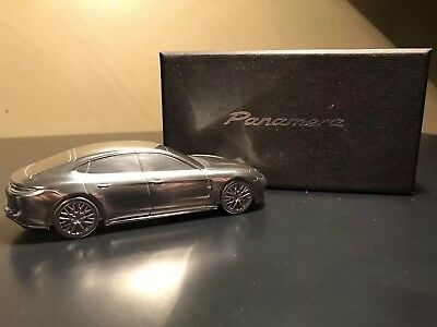 2018 Porsche Panamera Model / Solid Metal Paper Weight - Limited Edition - Rare