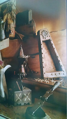 Beautifully Framed Original Photograph of Arabian Coffee Making/Serving Pieces