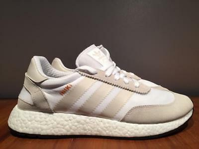 Adidas Iniki Runner Shoes Boost Color White/peagre Style By9731