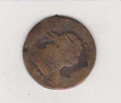 Scarce Early Date Half Cent 1807 - Clear Date- Free Shipping