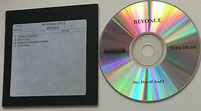 BEYONCE - Me, Myself and I. Promo CD