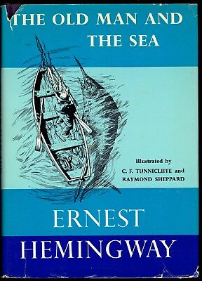 THE OLD MAN AND THE SEA - ERNEST HEMINGWAY - FIRST PRINTING of the ILLUS EDITION