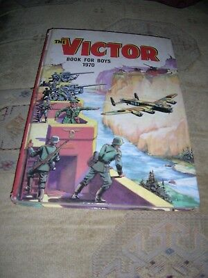 The Victor Book For Boys 1970 Dc Thomson  1970