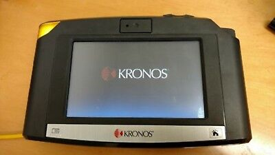 Kronos Intouch 9000 Time Clock with Biometric reader. Lightly Used Great Shape!