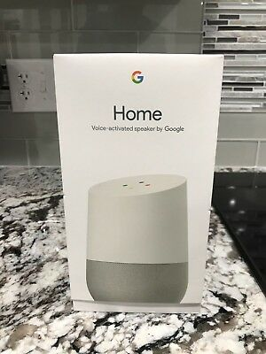 Brand New, Unopened Google Home Voice- Activated Smart Assistant