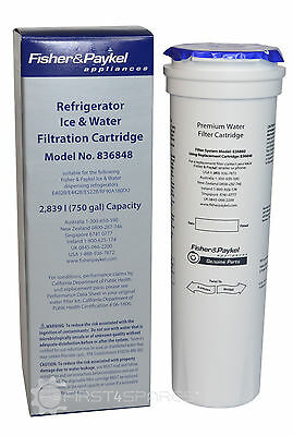 Genuine Fisher and Paykel: Refrigerator Water Filter - 836848 (Qty: 2)