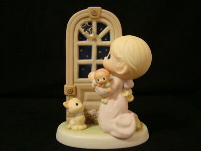 Precious Moments-Girl/Doll/Kitty/Star-Kneeling-Star Of Wonder-Limited Edition