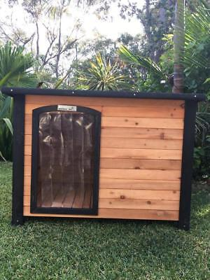 Dog Kennel Somerzby outdoor wooden pet house