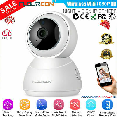 4x2x 1080P Wireless Wifi IP Camera CCTV Security Webcam Baby Monitor PT 3000TVL