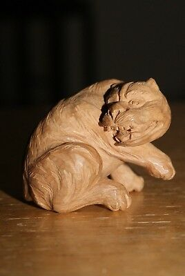 Japanese Collectible Netsuke,A Tiger