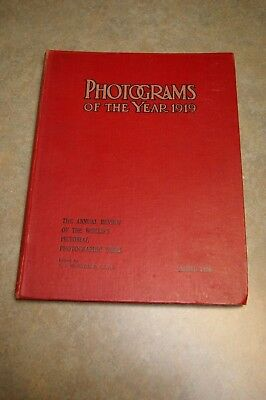 Antique Photograms Of The Year 1919 F. J. Mortimer Annual Review Of The World