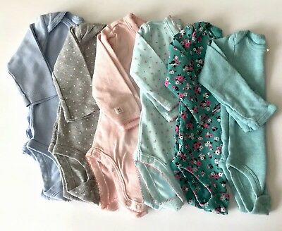 Baby Girls Clothing Bodysuits Carter's  Just One You long sleeve NB 3M Lot of 6