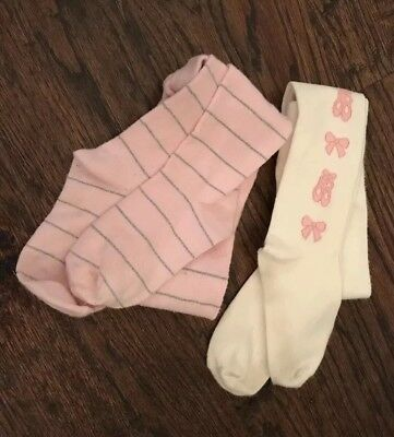 Gymboree Tights Girls Size 5-7 Lot of 2