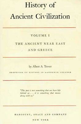 "Collectible 1936 ""History of Ancient Civilization: Ancient Near East & Greece"""