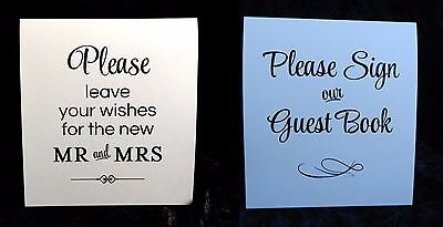 Wedding Guest Book Signs