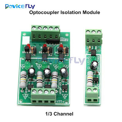 AC 220V 1/3 Channel Bit Optocoupler Isolation Module Board Adaptive For PLC