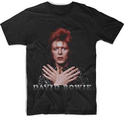 DAVID BOWIE Ziggy 1973 T SHIRT S-M-L-XL-2XL Brand New Official Hi Fidelity Merch
