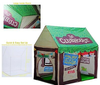 Kids Portable Foldable Playhouse Boys Girls Toddlers Indoor Outdoor Play Tent  sc 1 st  PicClick & KIDS PORTABLE Foldable Playhouse Boys Girls Toddlers Indoor ...