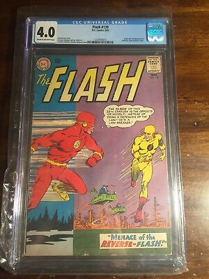 The Flash 139 (CGC 4.0) 1st Appearance of Reverse Flash No Reserve
