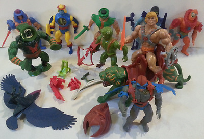 Vintage Masters of the Universe 1981 MOTU He-man Accessories Weapons Lot