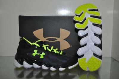 d50c72692b9c2 Under Armour Grade School Spine Disrupt Camo Boys Running Shoes 1286154 001  NIB