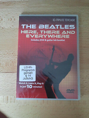 The Beatles - Here, there & everywhere Guitar Lern-DVD