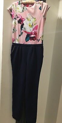 Ted Baker Girls Jumpsuit Age 14 Years.