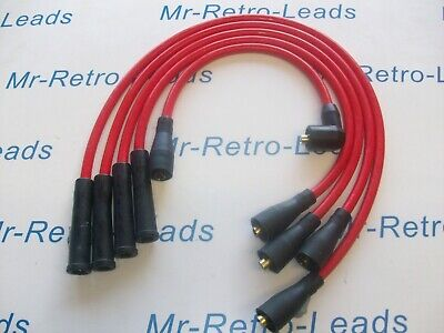 Red 8.5Mm Performance Ignition Leads For Ford Fiesta Mk1 950 1.1 Quality Ht Lead