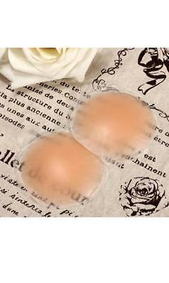 One Pair (2 Items) Silicone Round Nipple Covers Great Quality Australian Seller