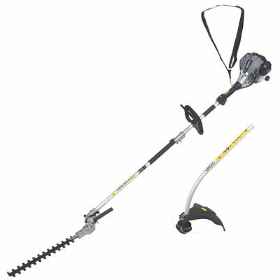 New Boxed Titan Ttl488Gdo 25Cc Bent Shaft Petrol 2-In-1 Grass & Hedge Trimmer