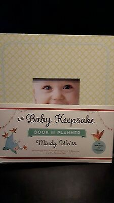new The Baby keepsake book and planner by MINDY WEISS GIFT