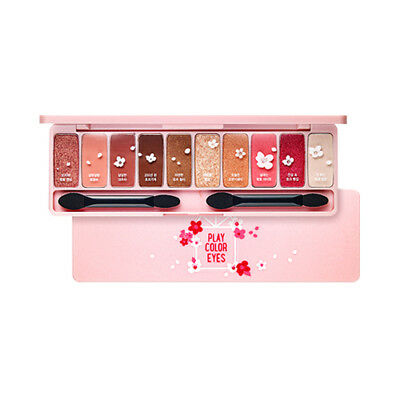 [ETUDE HOUSE] Play Color Eyes - 8g #Cherry Blossom / Free Gift