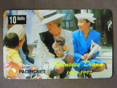 Magnetic kaart Pacificnet  -  PRINCESS DIANA