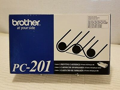 NEW! ~ Genuine BROTHER ~  PC-201~ Ink Printing Cartridge ~ FREE⚡SHIPPING!