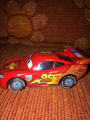 CARS - LIGHTNING MCQUEEN SAETTA  Racing Wheels  Loose Mattel Disney SFUSO NUOVO