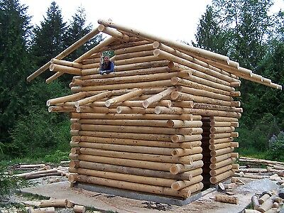 Onalaska Log House Building Class May 5, 12 or 27, 2018  Butt and Pass !!
