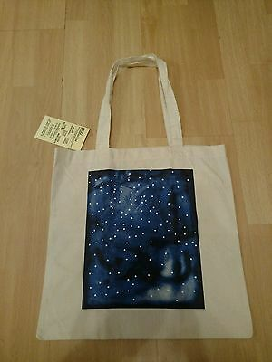 Lucien Smith - Blue Ltd Edition 50 Canvas Tote Authentic / Genuine - Very Rare