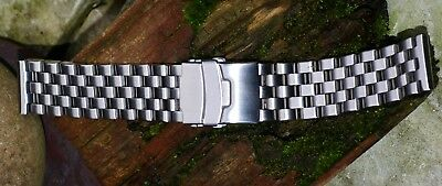 Strapcode (Miltat) 22mm Super Engineer I Stainless Steel Bracelet Push button cl
