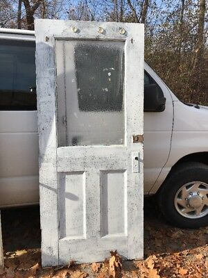 Ho Entrance Door Granite Glass 35.75 X 82.5