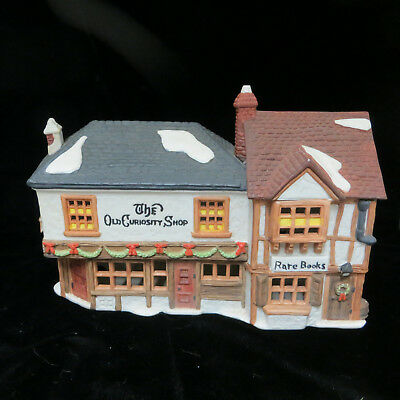 Dept 56 Dickens Village Old Curiosity Shop Christmas Town 1987 Holiday Light Up