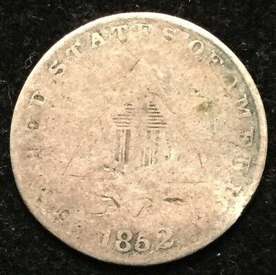 1852 3C Three Cent Silver- G #