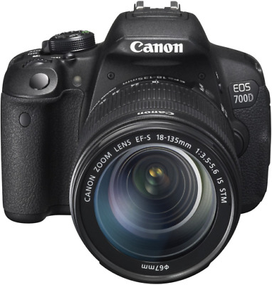 Canon EOS 700D Digital SLR Camera + 18-135mm IS STM Lens