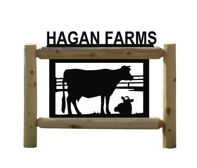 Holstein Cow Signs - Farm And Ranch Signs
