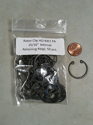"15/16"" Internal Spring Steel Retaining Rings ROTOR CLIP HO-93ST PA - 50 pc."