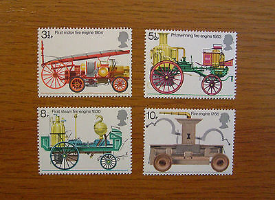 Sg. 950 - 953 Gb Stamps Fire Prevention 1974  Mnh