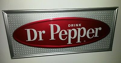 Vintage Dr Pepper Tin Sign Stout Sing Co