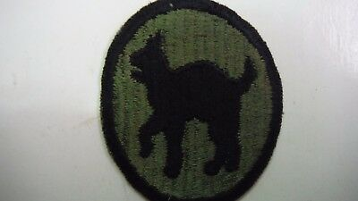 US Army WWII 81st Infantry Division Shoulder Patch