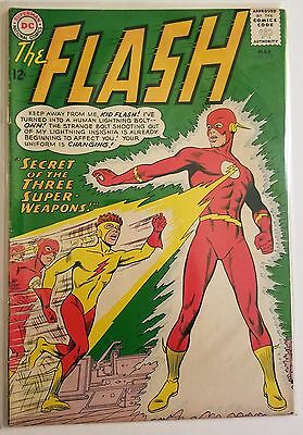 The Flash 135 (Mar 1963, DC) 1st appearance of Kid Flash's Yellow Costume