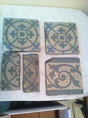 Vintage Lt American Encaustic Tile Co Limited Edition 1800s New York City Subway