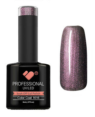1616 VB Line Purple Chameleon Metallic - gel nail polish - super gel polish